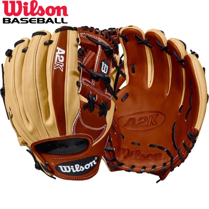 送料無料 【USA物】ウィルソン 野球 DUAL 硬式 内野手用 グローブ グラブ A2K シリーズ Wilson 軟式使用可能 右投げ用 Hウェブ 11.75インチ