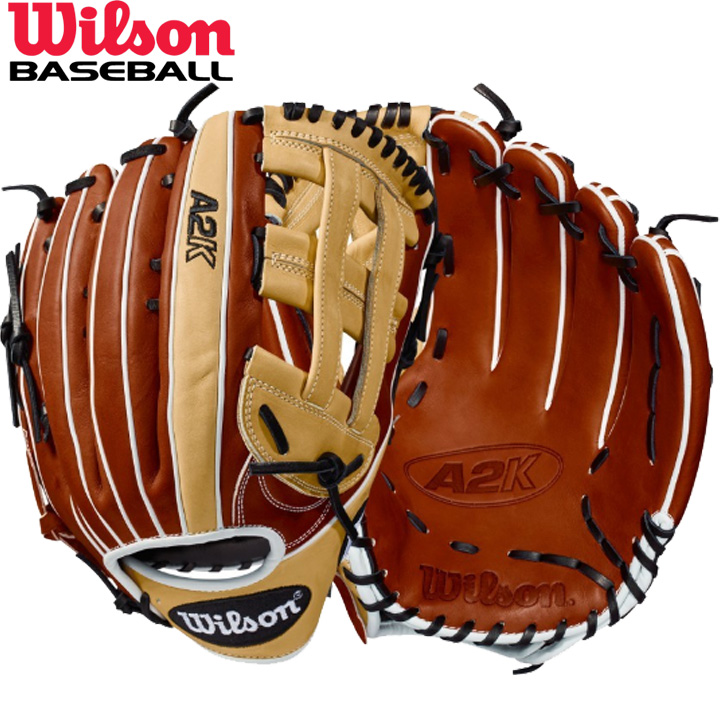 送料無料 【USA物】ウィルソン 野球 DUAL 硬式 外野手用 グローブ グラブ A2K シリーズ Wilson 軟式使用可能 右投げ用 デュアルポストウェブ 12.75インチ