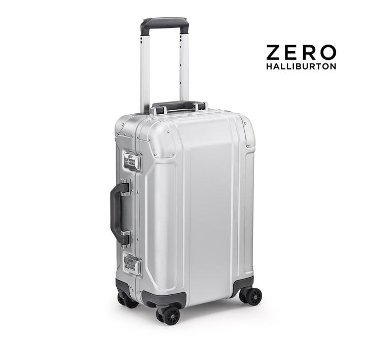 ゼロハリバートン ZERO HALLIBURTON スーツケース zhzrg2522-si インターナショナル キャリーオン International Carry-On シルバー 旅行カバン 4輪自在キャスター 2個目のスーツケース