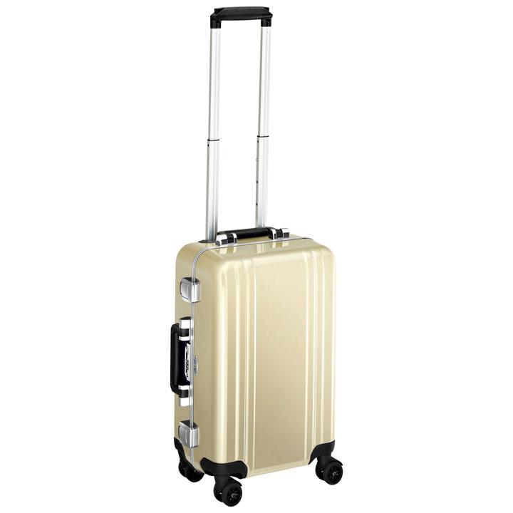 ゼロハリバートン スーツケース ZRF19-PG シャンパンゴールド 旅行カバン 機内持ち込みサイズ 4輪自在キャスター 2個目のスーツケース