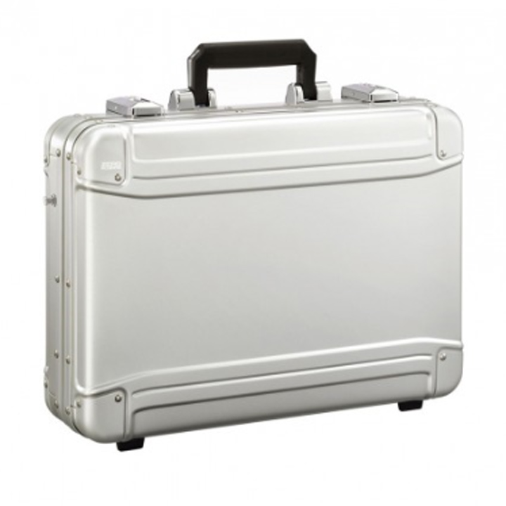 b1b827cb4 Attache case ZRG-LC2 B4 size business bag dial lock aluminum case mounted  with Zero ...