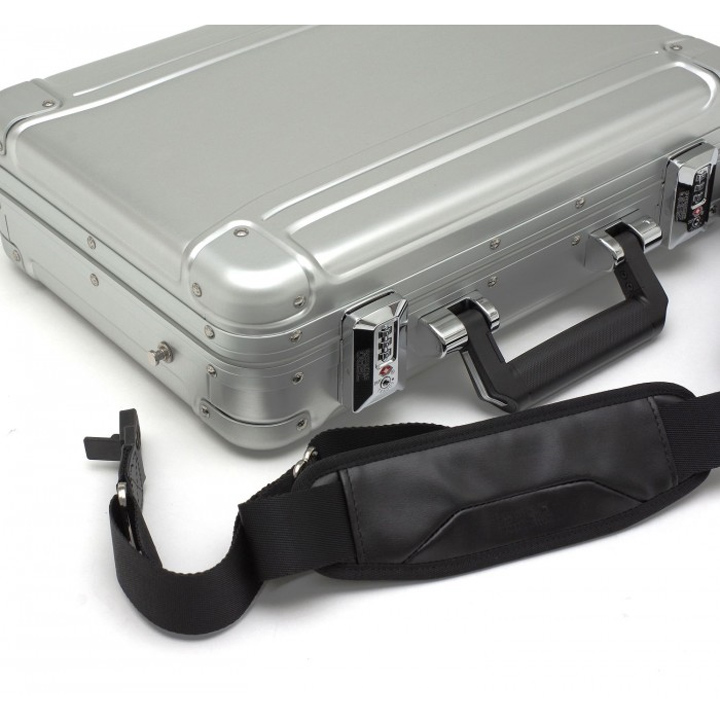 389e1fe78 ... Attache case ZRG-LC2 B4 size business bag dial lock aluminum case  mounted with Zero ...