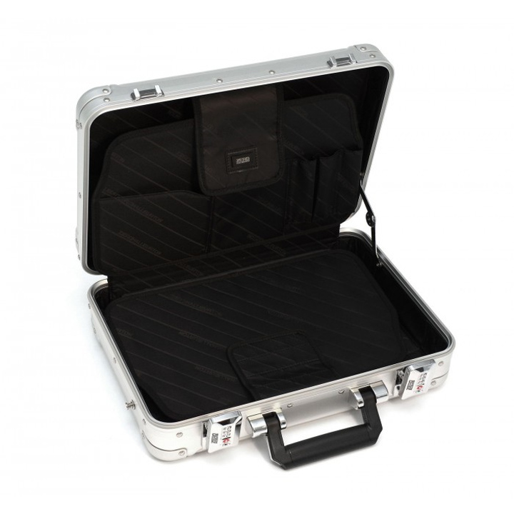 1dc16075f ... Attache case ZRG-LC2 B4 size business bag dial lock aluminum case  mounted with Zero