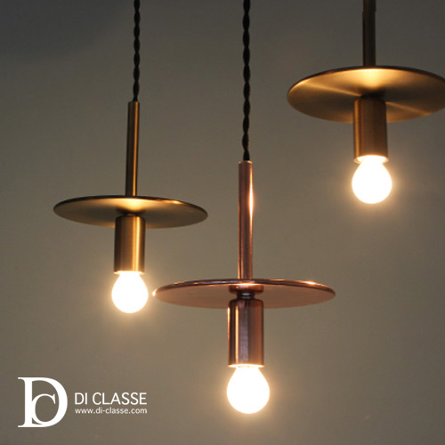 Di Cle Pendant Light With Plate Lamp Interior Lighting Ceiling Design