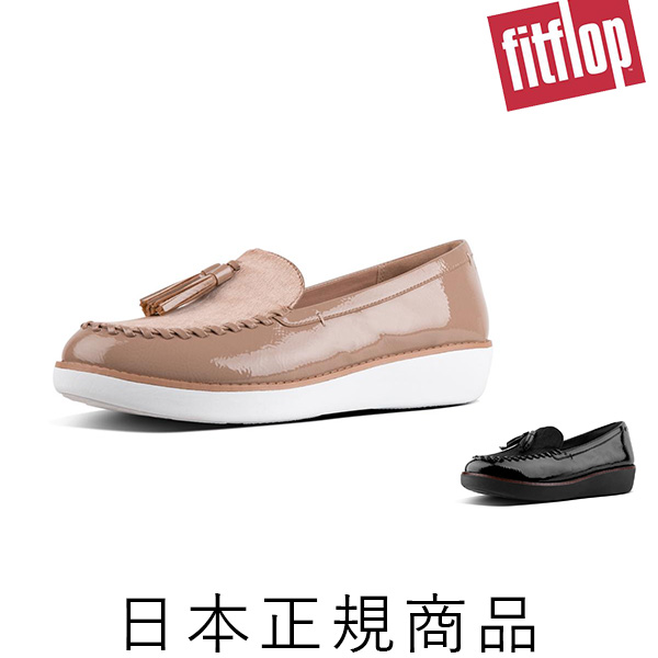 【fitflop(フィットフロップ)】 PAIGE FAUX-PONY MOCCASSIN (ページ フォウポニーモカシン)[O27] [靴 フィット フロップ レディース Loafer/Moccasin ローファー モカシン スーパーコンフ] [2018AW]