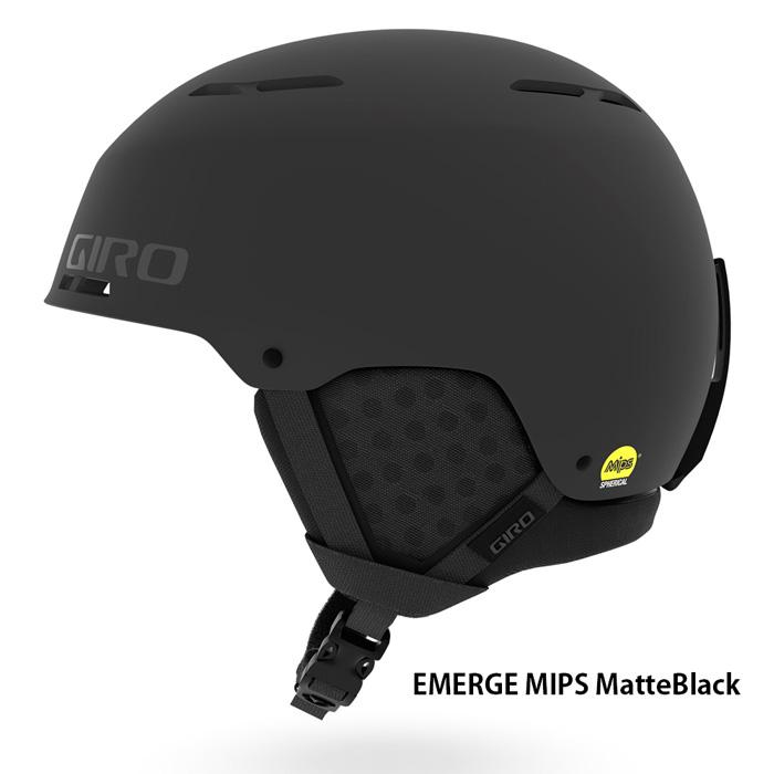 [ GIRO ] 19モデル!スノーヘルメット スキーヘルメット EMERGE MIPS