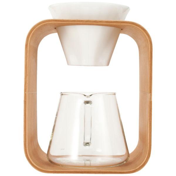 SNOWTOPコーヒーポット&ドリッパーセット (K9966DS-M)[返品・交換・キャンセル不可]