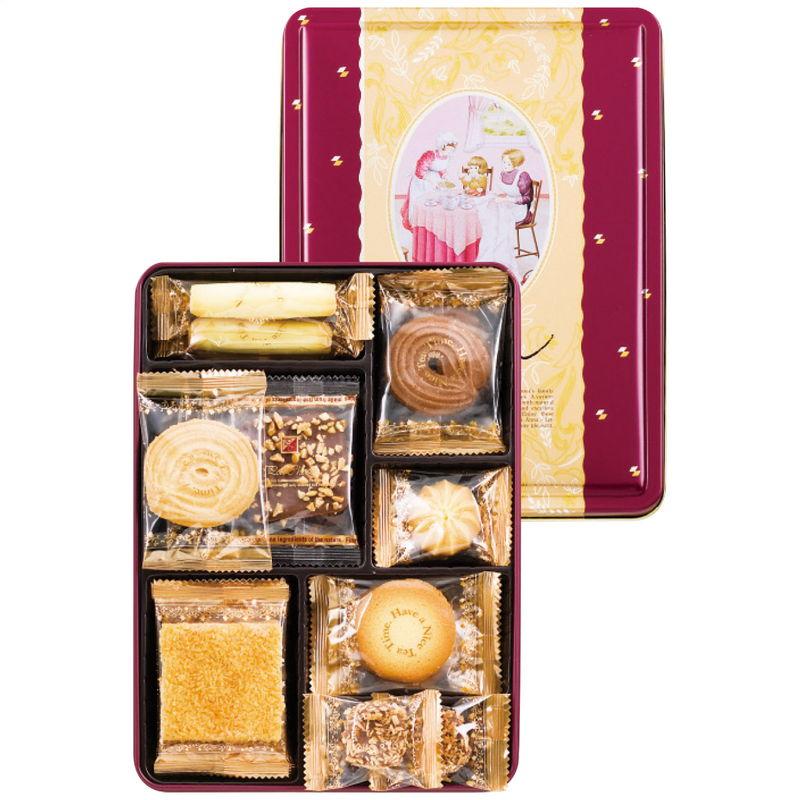 2021年 贈りもの お返しものギフト アンナの家 信託 ティータイム 日本最大級の品揃え キャンセル クッキー詰合せ 返品不可 変更