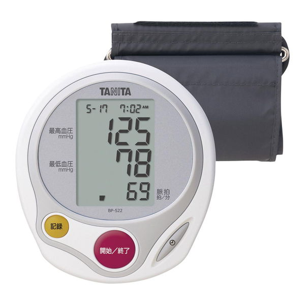 タニタ 上腕式血圧計 (BP-522-WH) [キャンセル・変更・返品不可]