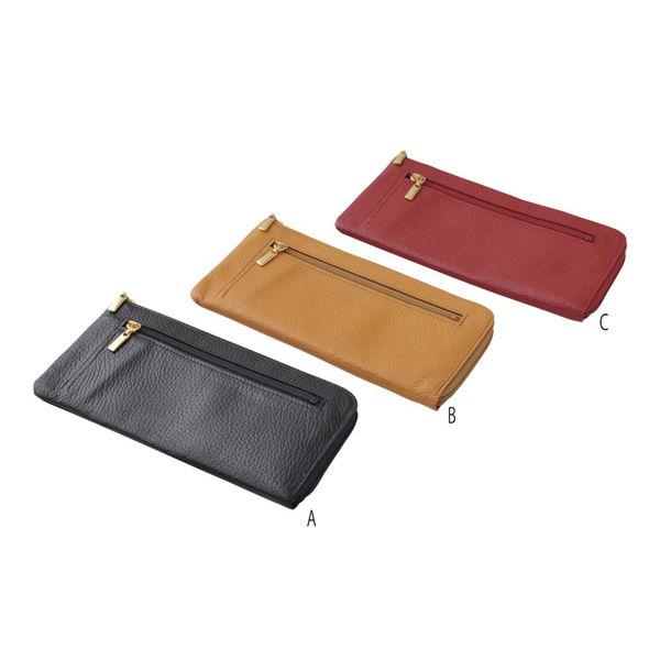 良品工房 日本製牛革手作り ラウンド財布 黒 (B0110-200B) [キャンセル・変更・返品不可]