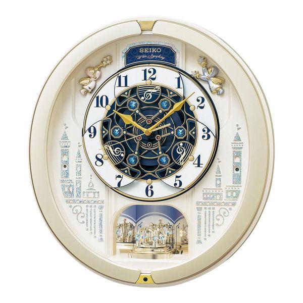 セイコー ウエーブシンフォニー 電波からくり時計 (RE579S) 単品 [キャンセル・変更・返品不可]