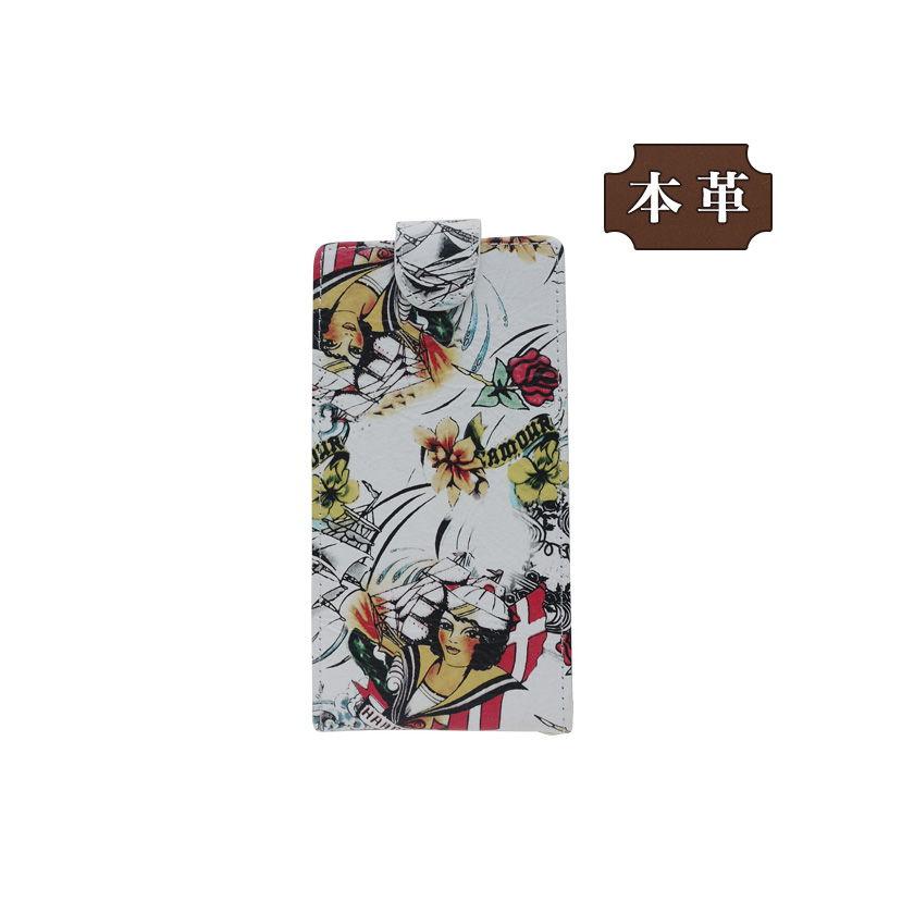 ASUS ZenFone Max Pro(M1) 専用 手帳型スマホケース 縦開き 花柄 エレガント (LW176-V) [キャンセル・変更・返品不可][代引不可][同梱不可]