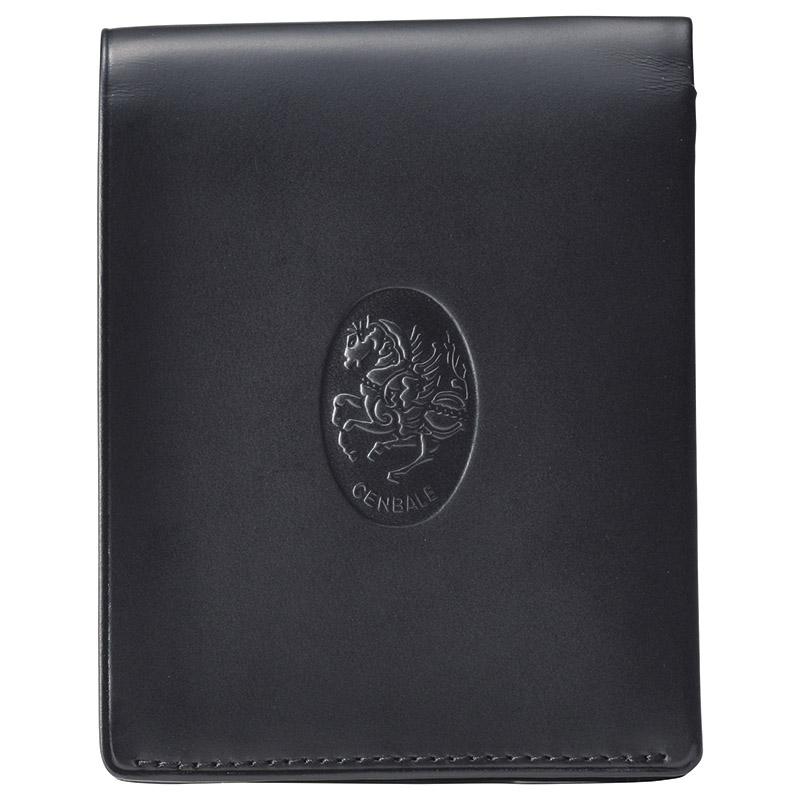 レオナルド・チェンバレ 二つ折れ財布(ブラック) (CL3004) [キャンセル・変更・返品不可]