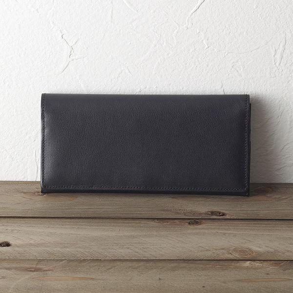 ソフトオイルレザー 長財布(ブラック) (TA43-01) [キャンセル・変更・返品不可]