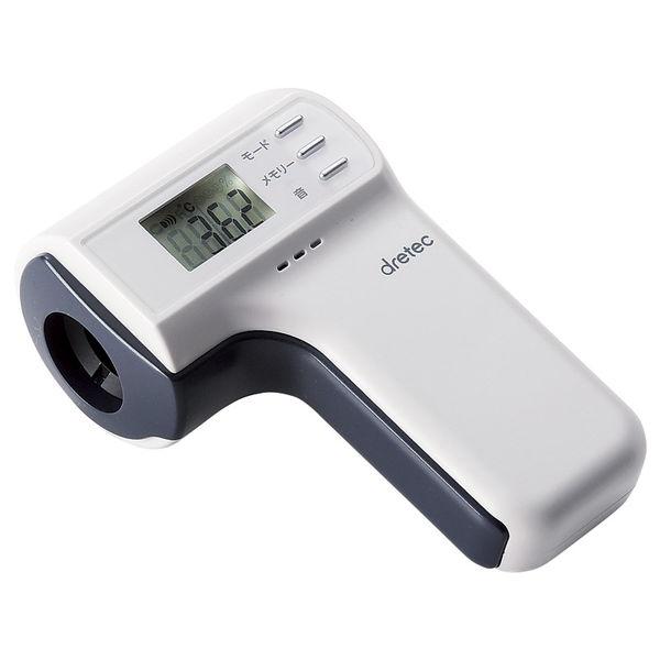 ドリテック 非接触赤外線体温計 (TO-400WT) [キャンセル・変更・返品不可]