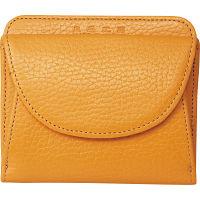 良品工房 日本製牛革二つ折財布 キャメル (B0110-201CA) [キャンセル・変更・返品不可]