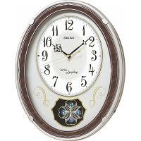 セイコー メロディ電波掛時計(18曲入) (AM259B) [キャンセル・変更・返品不可]