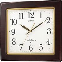 シチズン 木枠電波掛時計 (8MY455-006) [キャンセル・変更・返品不可]