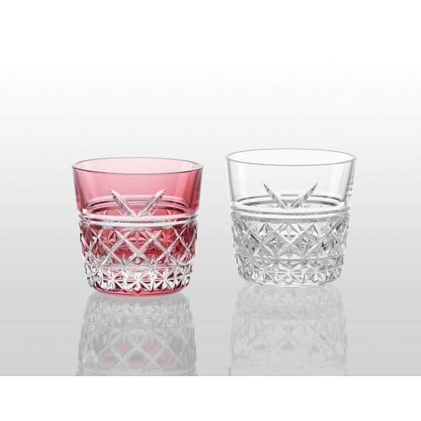 2021年 贈りもの お返しものギフト KAGAMI 江戸切子 ペア冷酒杯 結 SALE TPS736-2948-AC キャンセル 返品不可 格安店 変更