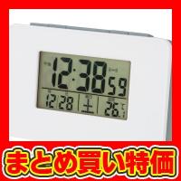 電波目覚まし時計 (SN-01) ※セット販売(100点入) [キャンセル・変更・返品不可]