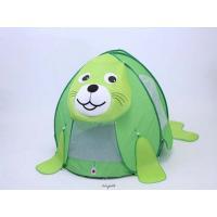 MH-TENTG-SEAL メリープレイテント(Merry Tent) グリーン&アシカくん グリーンのアシカくん [ラッピング不可][代引不可][同梱不可]