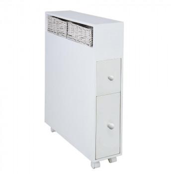 多機能トイレラック LS-2400 WH [ラッピング不可][代引不可][同梱不可]