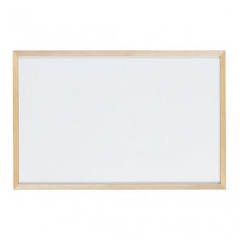 馬印 木枠ボード ホワイトボード 900×600mm WOH23 [ラッピング不可][代引不可][同梱不可]