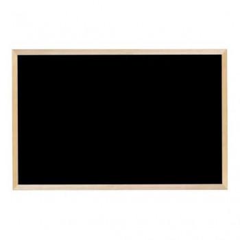 馬印 木枠ボード ブラックボード 900×600mm WOEB23 [ラッピング不可][代引不可][同梱不可]