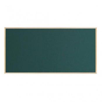 馬印 木枠ボード スチールグリーン黒板 1800×900mm WOS36 [ラッピング不可][代引不可][同梱不可]