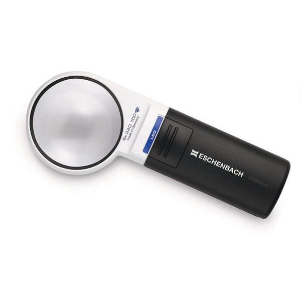 エッシェンバッハ mobiluxLED+mobase LEDワイドライトルーペ&専用スタンド 60mmΦ(6倍) 1511-6M