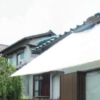 萩原工業 遮熱シート スノーテックス・クール 約1.8×1.8m 24枚入 [ラッピング不可][代引不可][同梱不可]