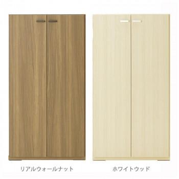 フナモコ 日本製 LIVING SHELF 棚 板戸 600×387×1138mm リアルウォールナット・KFD-60 [ラッピング不可][代引不可][同梱不可]