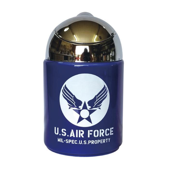 AIR FORCE ドームアシュトレイ 灰皿 1-008-2 今だけ限定15%OFFクーポン発行中 人気ブランド U.S.AIR