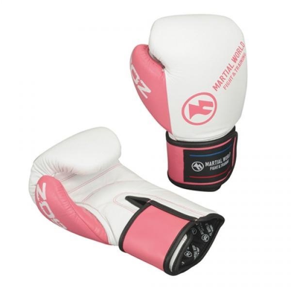 ベーシックグローブ 12oz ピンク白 BG12-12-PKWH