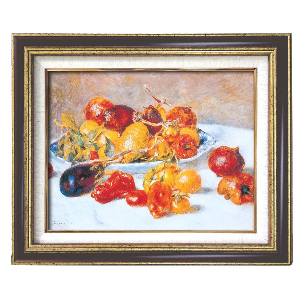(額装品)世界の名画9573 F6 ルノワール「南仏の果実」 117164