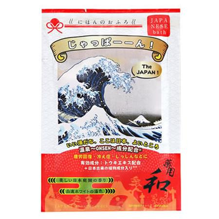 五洲薬品 薬用入浴剤 にほんのおふろ じゃっぱーーん! (25g×10包)×12箱(120包入り) NHO-JP