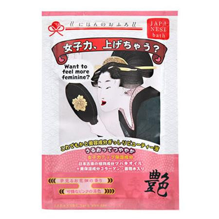 五洲薬品 入浴用化粧品 にほんのおふろ 女子力、上げちゃう? (25g×10包)×12箱(120包入り) NHO-JO