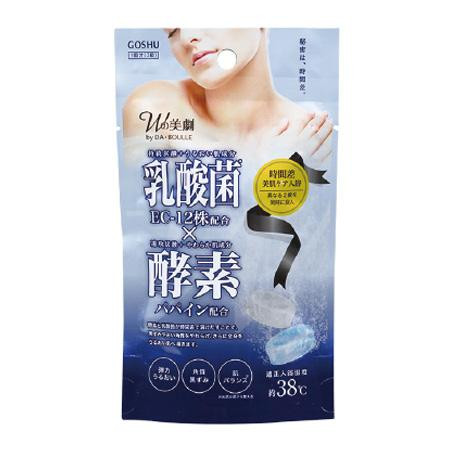 五洲薬品 入浴用化粧品 Wの美劇 乳酸菌酵素 ((25g×2錠)×10袋)×8箱(80袋入り) DB-NK [ラッピング不可][代引不可][同梱不可]