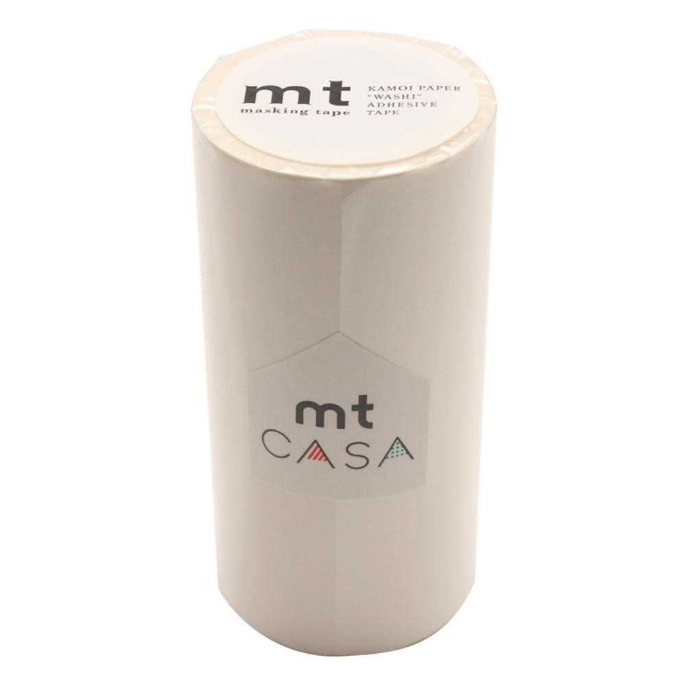 送料無料 メール便 mt CASA MTCA1086 マットホワイト 直営店 年間定番 マスキングテープ 100mm幅×10m巻き