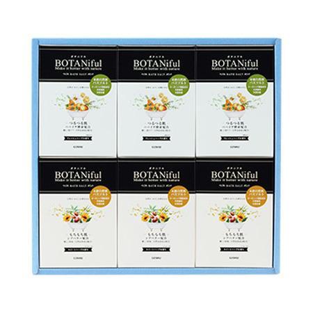 五洲薬品 入浴用化粧品 ボタニフルバスソルト ギフト BOT-G36 ((35g×4包)×6箱)×6セット [ラッピング不可][代引不可][同梱不可]