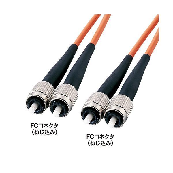 サンワサプライ 光ファイバケーブル(3m) HKB-FF5W-3