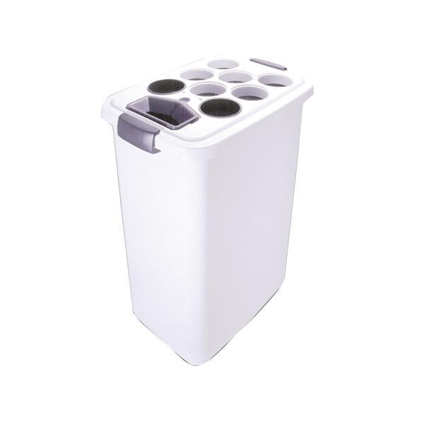 ぶんぶく 紙コップ専用回収ボックス PC-700R [ラッピング不可][代引不可][同梱不可]