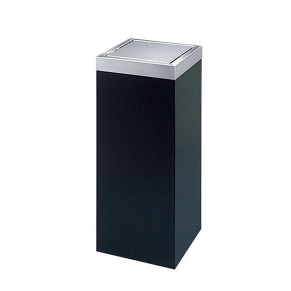 ぶんぶく ロータリースタンド 平トップタイプ(角胴) 10L ブラック RS-X-1 [ラッピング不可][代引不可][同梱不可]