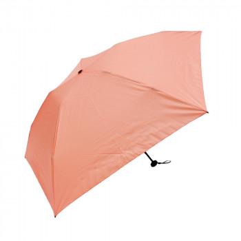 送料無料 メール便 お歳暮 藤田屋 折り畳み傘 SALE 軽かる ピンク カーボン無地 CM50-1715 50cm