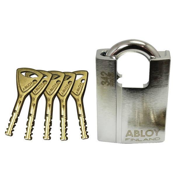 072844 ABLOY PadLock PL342N 5本キー 00072844-001