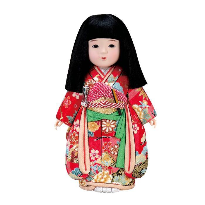 01-824 木目込み人形 春日市松(女) セット