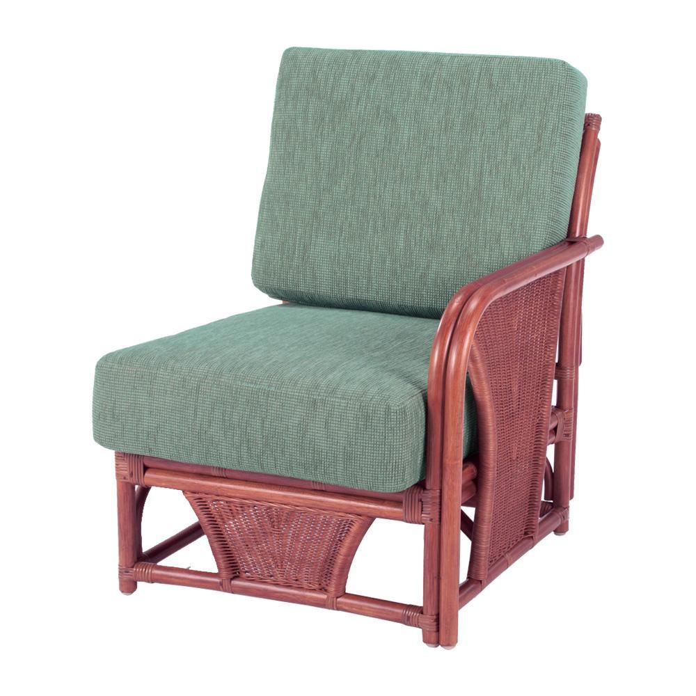 今枝ラタン 籐 アームチェア 肘付き椅子(ワンアームタイプ) スコルピス A-600-3D [ラッピング不可][代引不可][同梱不可]