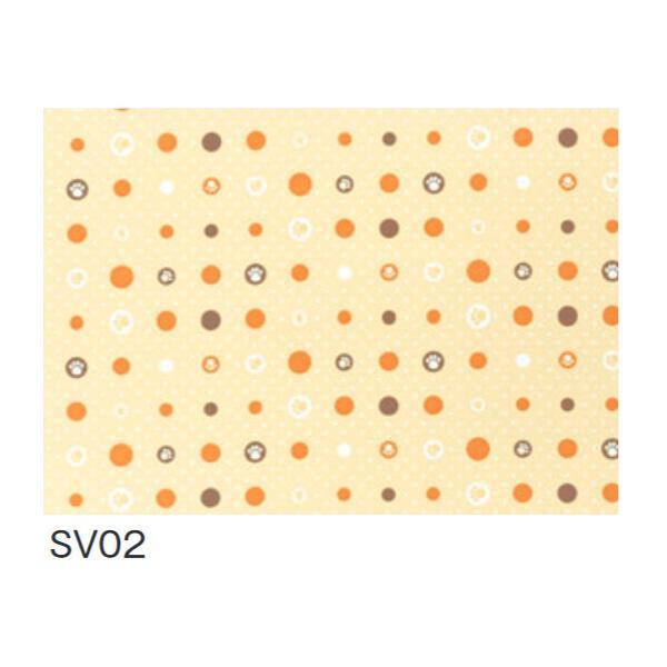 [ラッピング不可][代引不可][同梱不可] SV02 消臭ビニールマット(置き敷き専用) 約92cm幅×20m巻 クッションフロア 富双合成