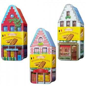 VERMEIREN(ベルメーレン) カラメルビスケット オリジナルハウス缶A 6個セット [ラッピング不可][代引不可][同梱不可]