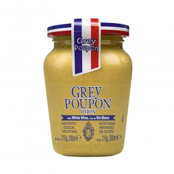 送料無料 Grey Poupon 配送員設置送料無料 グレープポン ディジョン 同梱不可 ラッピング不可 215g×12個セット ついに再販開始 ホット 代引不可